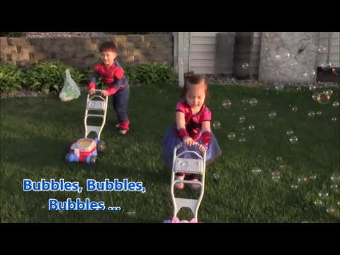 Fisher Price Blue/Pink Bubble Mowers And Bubble Guns