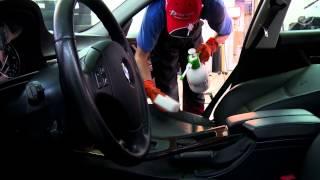 Химчистка коврового покрытия автомобиля(, 2014-11-11T12:42:54.000Z)