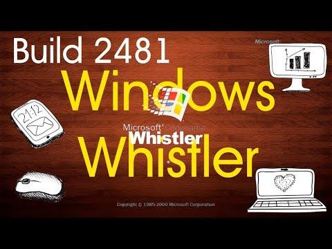 Установка Windows Whistler Build 2481 на старый компьютер