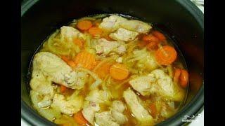 Тушеные овощи с курицей в мультиварке Рецепт приготовления в домашних условиях