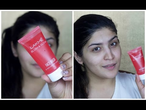 Lakme Blush and Glow Face Wash First Impressions