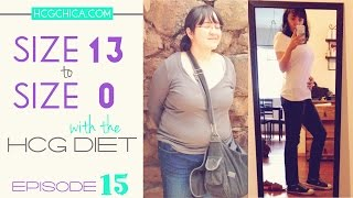 hCG diet success - Size 13 to Size 0 with drops & injections - Episode 15: hCG Diet Interviews