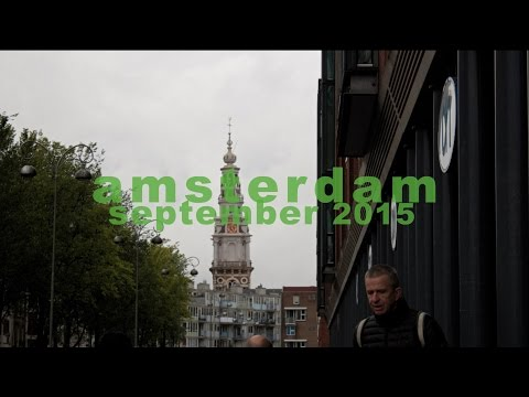 A Rainy Day in Amsterdam | Short Travel Film | Study Abroad