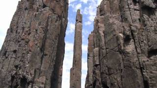 Climbing and highlining the Totempole