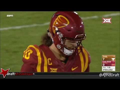 Malik Jefferson Texas LB vs Iowa State -