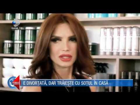 Stirile Kanal D (23.09.2017) - Cristina Spatar, divortata, dar traieste cu sotul in casa! COMPLET