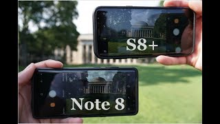 Samsung Galaxy Note 8 vs. S8(+) In-Depth Camera Comparison