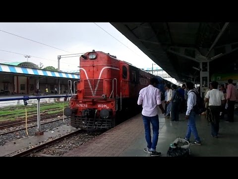 DURG to KOTA : Full Journey via KATNI Part 2 - Diesel run in