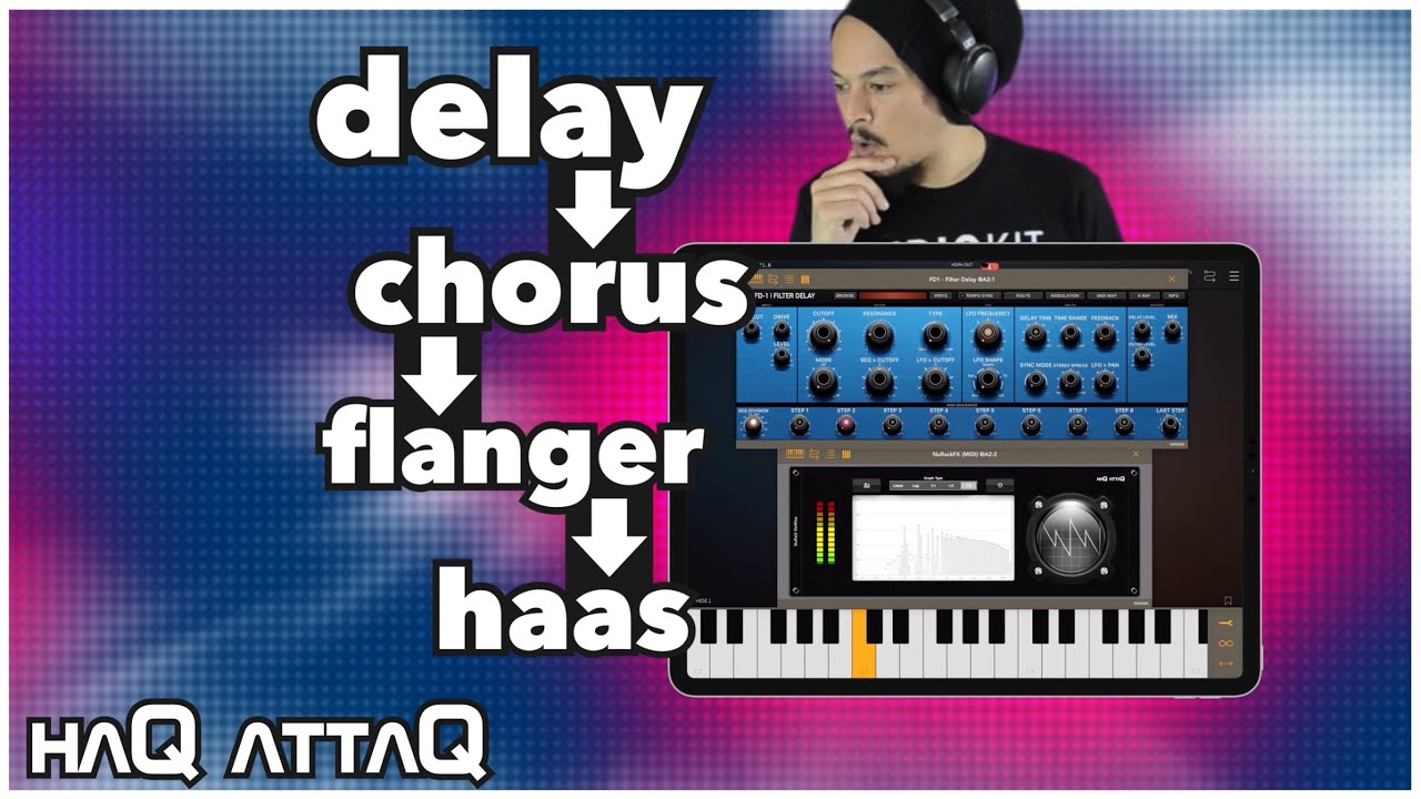 sound like CHORUS but is DELAY?! | Time-based effects | haQ attaQ