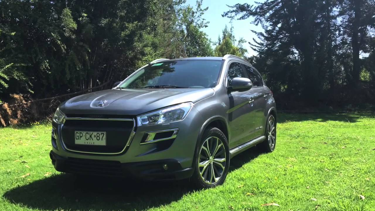 peugeot 4008 active 2014 - youtube