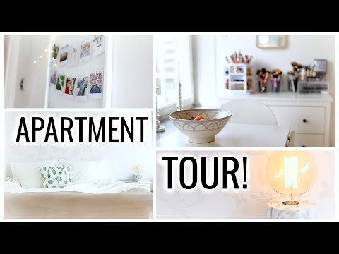 My Small Studio Apartment Tour 2017!! [Stockholm, Sweden]
