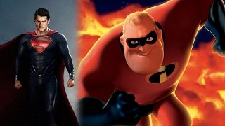 The Incredibles: Man of Steel Style! - TRAILER MASH-UP