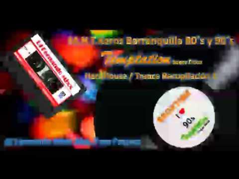 Backtime Programa Recopilacion Temptation! Super Disco Barranquilla