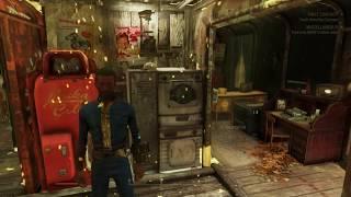 Fallout 76 Underground train Car base