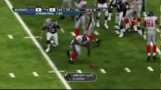 new york giants vs new england patriots   super bowl xlvi madden 2012 simulation