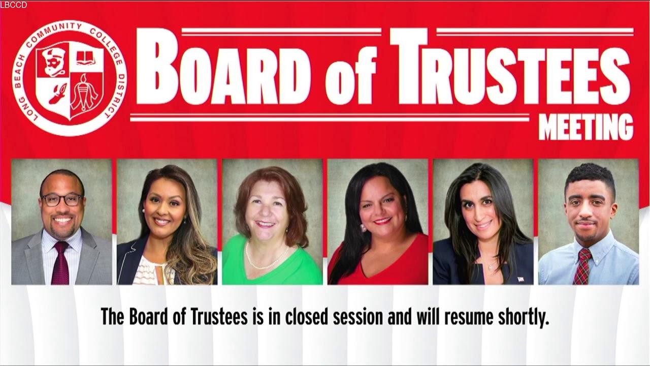 LBCCD - Board of Trustees Meeting - July 28, 2021