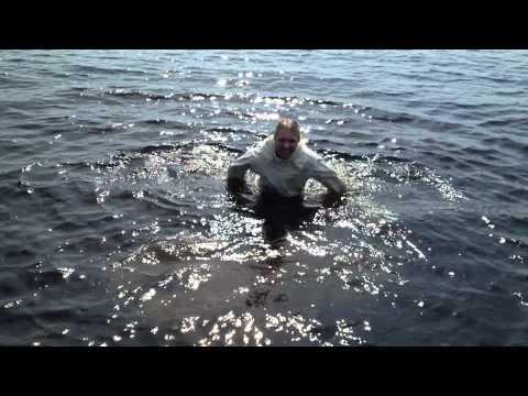SP09B badar med vinterkläder