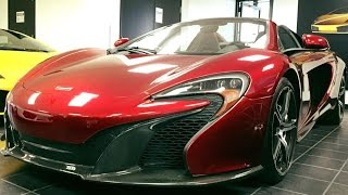 McLaren 650S Spider 2015 Videos
