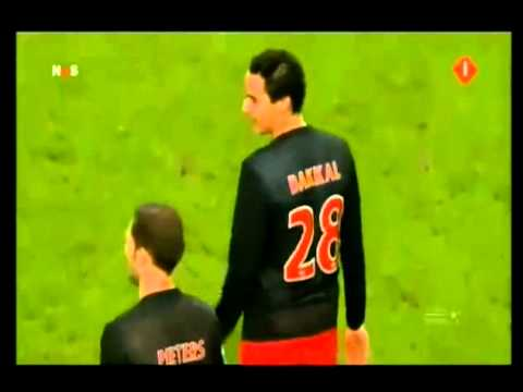 Luis Suarez bites Otman Bakkal, banned for seven games while at Ajax
