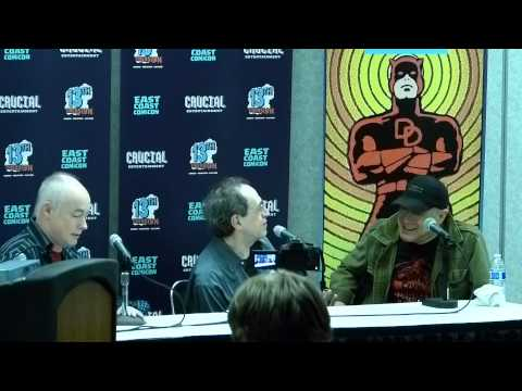 Wallace Wood Panel East Coast Comic Con April 11th, 2015 1pm Part 1