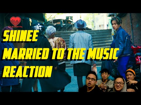 [4LadsReact] SHINee (샤이니) - Married to the Music MV Reaction