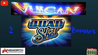 ( First Attempt ) Ainsworth - Vulcan ( Quad Shot ) : 2 Bonuses on Minimum Bet(This video was filmed at : Barona Casino & Resort Lakeside , CA Pleas Sub if you enjoyed my video so you get updates when I upload new video. you can use ..., 2016-11-01T14:00:30.000Z)