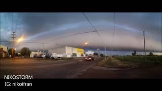 Frente frío-Nube rodillo/ Cold front-Roll cloud-(Punta Alta-Argentina-22/04/2018)
