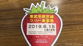 東武宇都宮線フリー乗車DAY2019