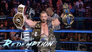 Aries/Pentagon/Fenix LIGHT IT UP in Redemption Main Event | IMPACT Wrestling Redemption Highlights