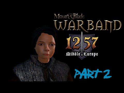 ▓Let's Play Mount & Blade: Warband - 1257 AD Middle Europe Mod! [CZ] - Part 2 - Mistr turnajů!▓