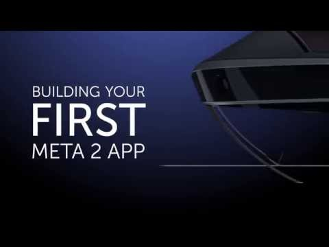 Meta 2 App Tutorial 1: How to Put a Cube in the World