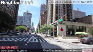 Video Tour Of A Furnished Studio Apartment In The Upper East Side, Manhattan