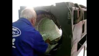 Rebobinagem do Motor 900cv com Bobinas Moldadas