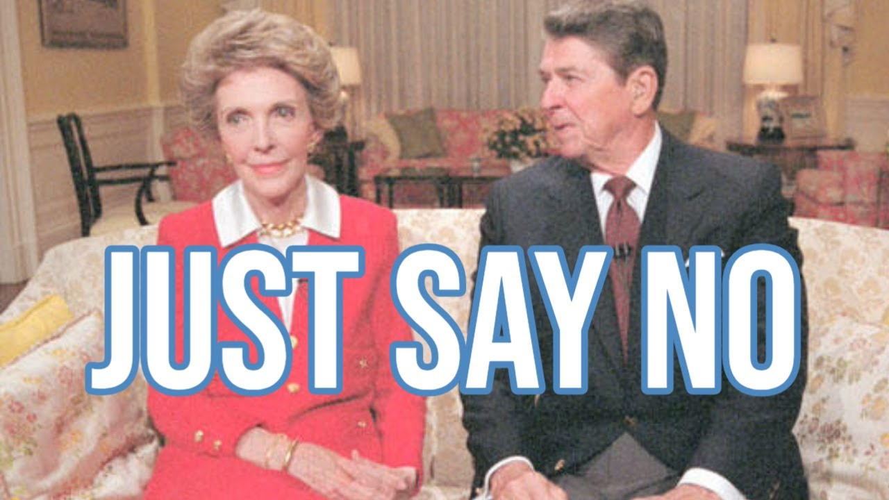 Nancy Reagan and the Failure of Just Say No - YouTube