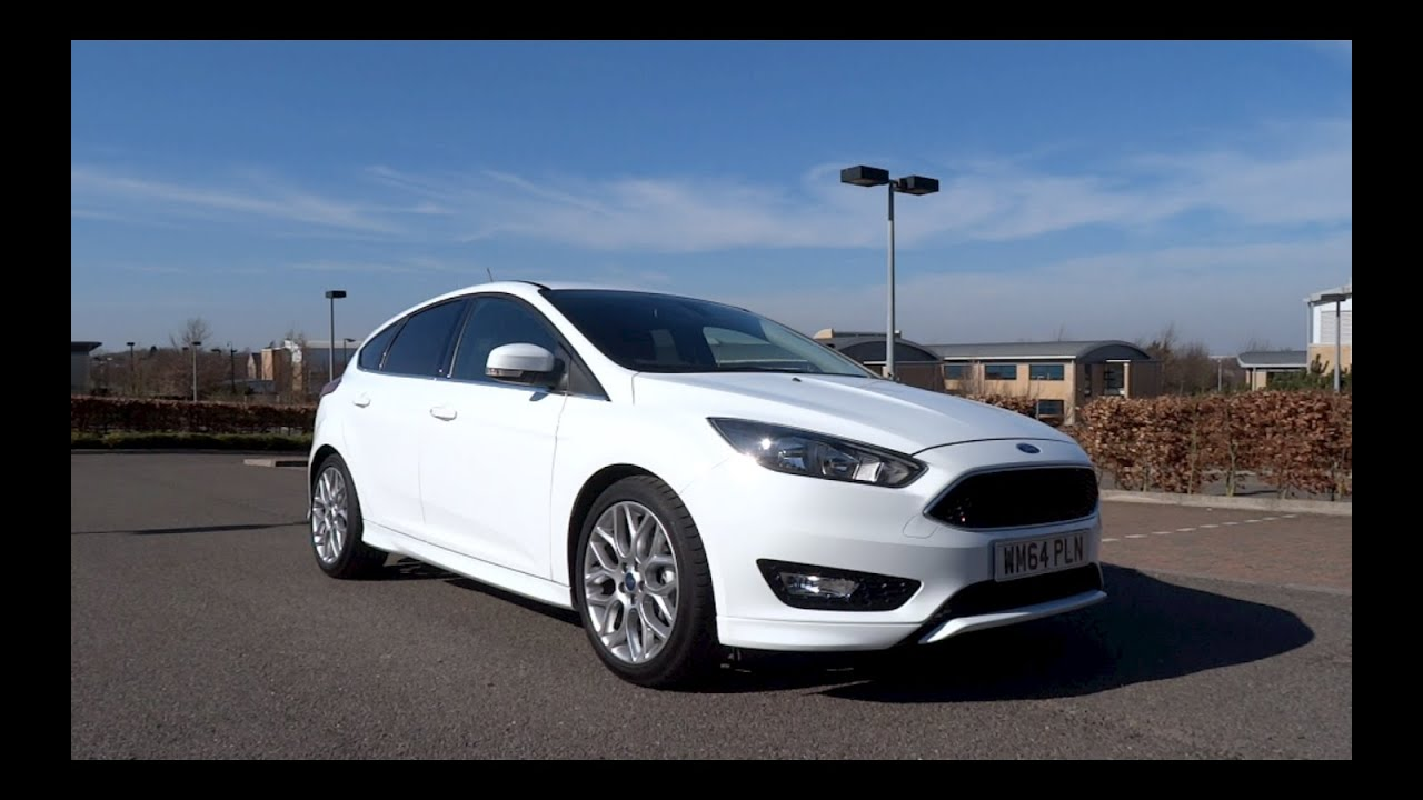 2015 ford focus 1 0t ecoboost 125 zetec s start up and full vehicle tour youtube. Black Bedroom Furniture Sets. Home Design Ideas