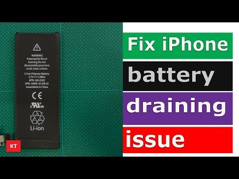 Fix iPhone battery draining fast problem