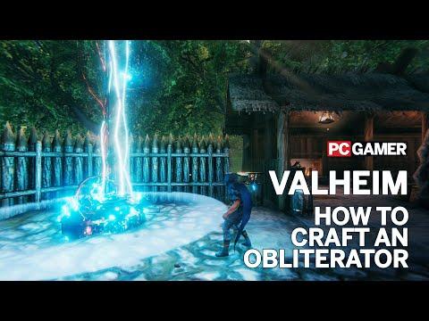 Valheim: How to craft an Obliterator