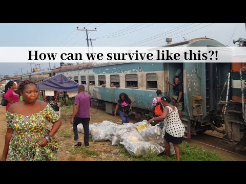 ENTERING A TRAIN IN NIGERIA FOR THE FIRST TIME | IS THERE HO