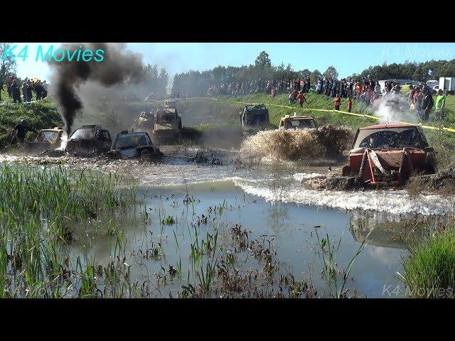 4x4 Off-Road vehicle mud, water race   ET1   Antsumae 2017