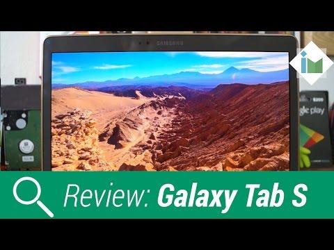 Samsung Galaxy Tab S - Review En Español