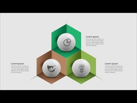vector Graphic Design business Infographic template Illustrator CC Tutorial