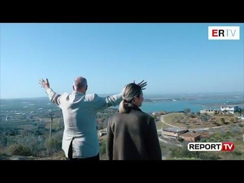 Report Tv - Rama me krahët hapur në Roskovec: Ejani, se qenka si Toskana