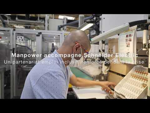 Manpower et Schneider Electric : un partenariat emploi inclusif, renforcé pendant la crise