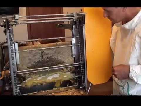 Станок распечатывающий медовые соты