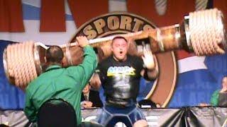 """2014 Arnold strongman classic competitors"" Austrian Oak Lifting Accident!"