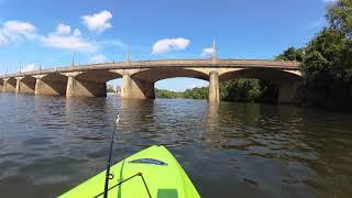 Kayaking The James River (YI 4K)