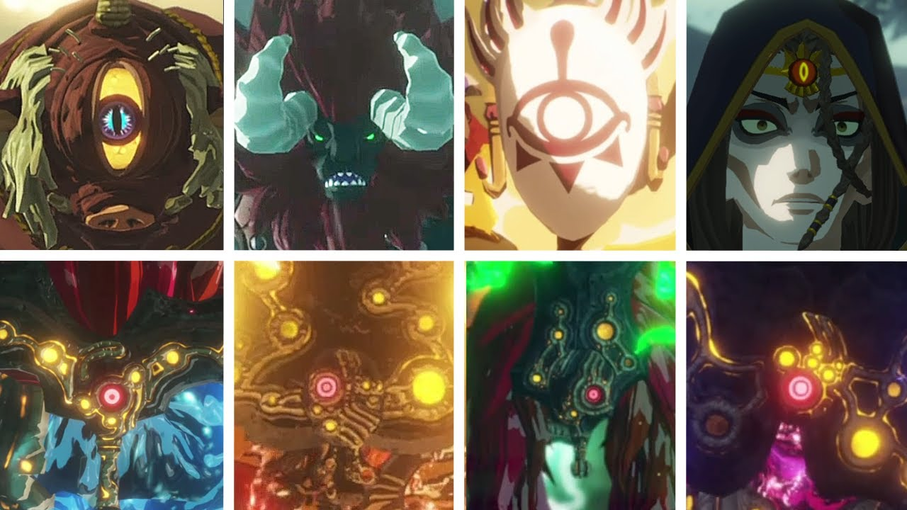 Hyrule Warriors Age Of Calamity All Bosses Youtube
