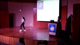 Amity University Fresher Party | Solo Dance | Amity Talent Hunt