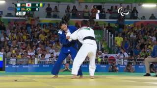 Judo | Japan vs Brazil | Women's -57kg Semi-final | Rio 2016 Paralympic Games