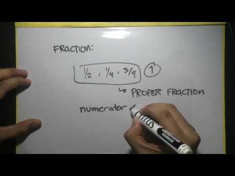 Civil Service Exam Review - Math - Fraction TUTORIAL #1